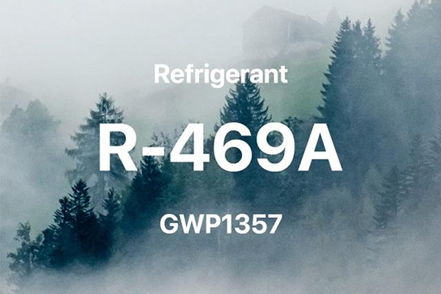 GWP新冷媒「R-469A」